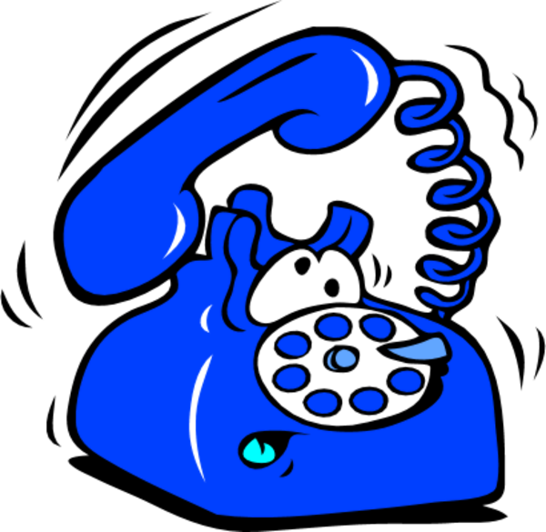 Telephone clipart cute.  collection of blue