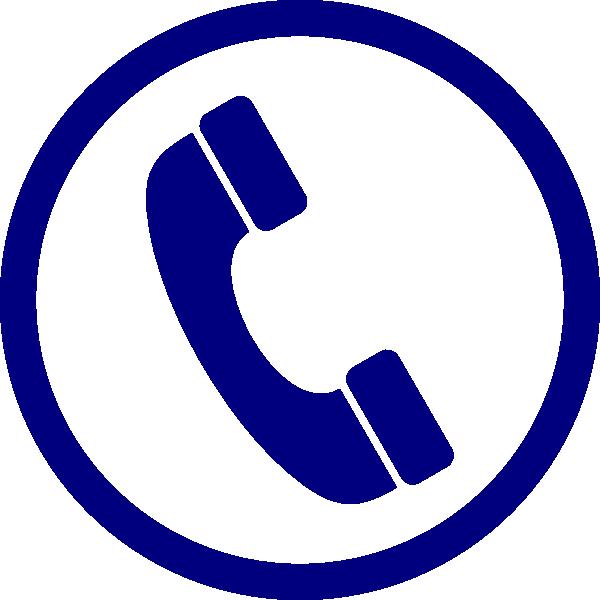 Telephone clipart teliphone. Blue phone clip art