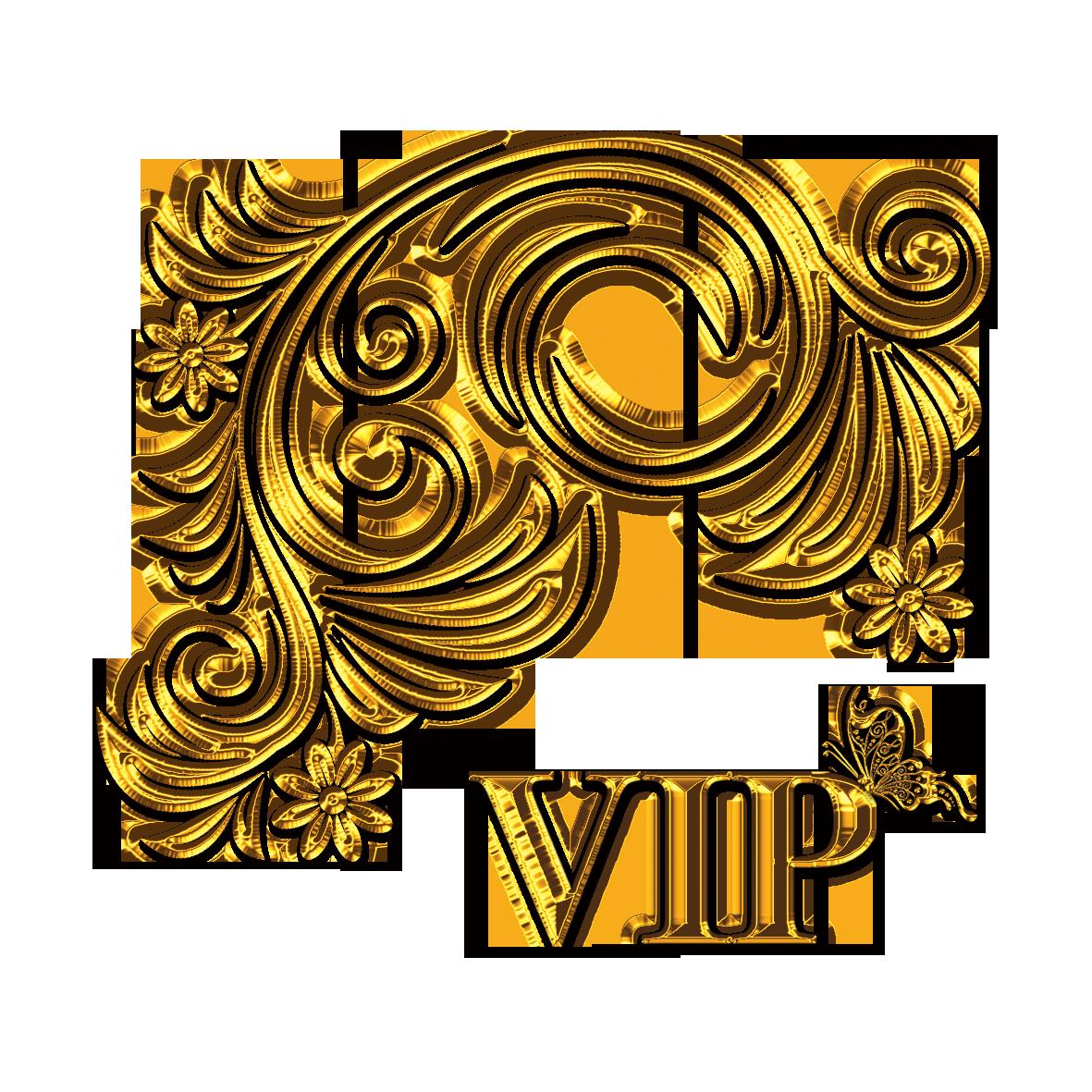 Facebook clipart business card. Gold clip art vip
