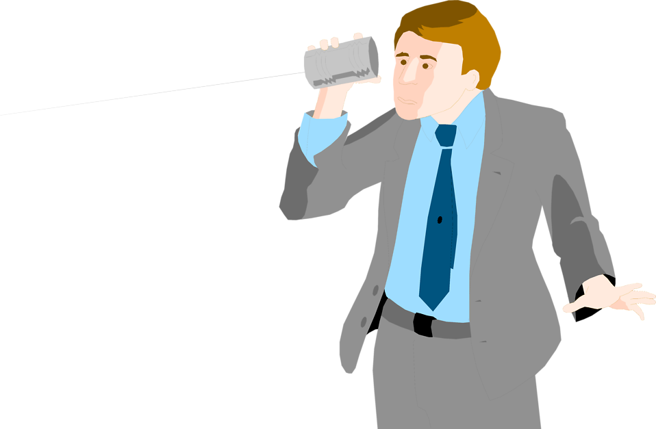 Telephone clipart man. Business free stock photo