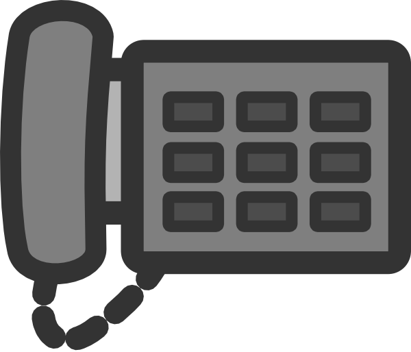 Office phone clip art. Telephone clipart teliphone