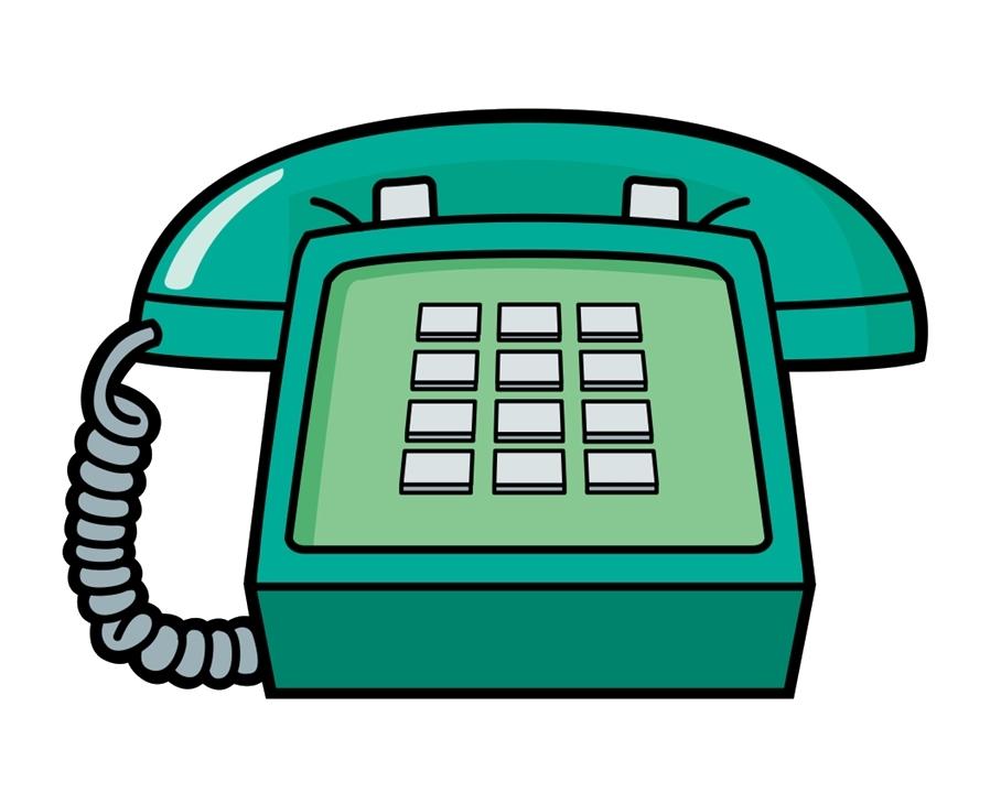 Telephone clipart cartoon. Download phone free hq