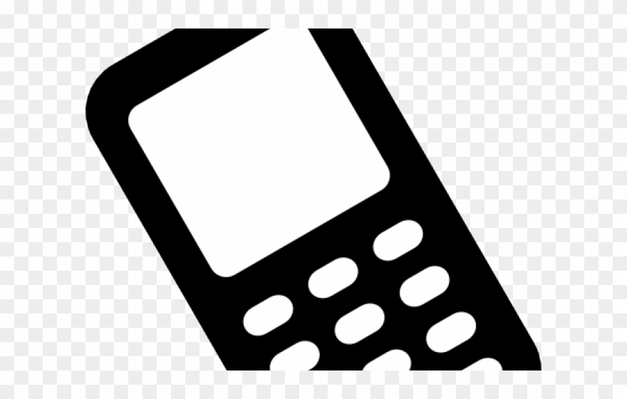 Clipart phone cell. Smartphone hand word art