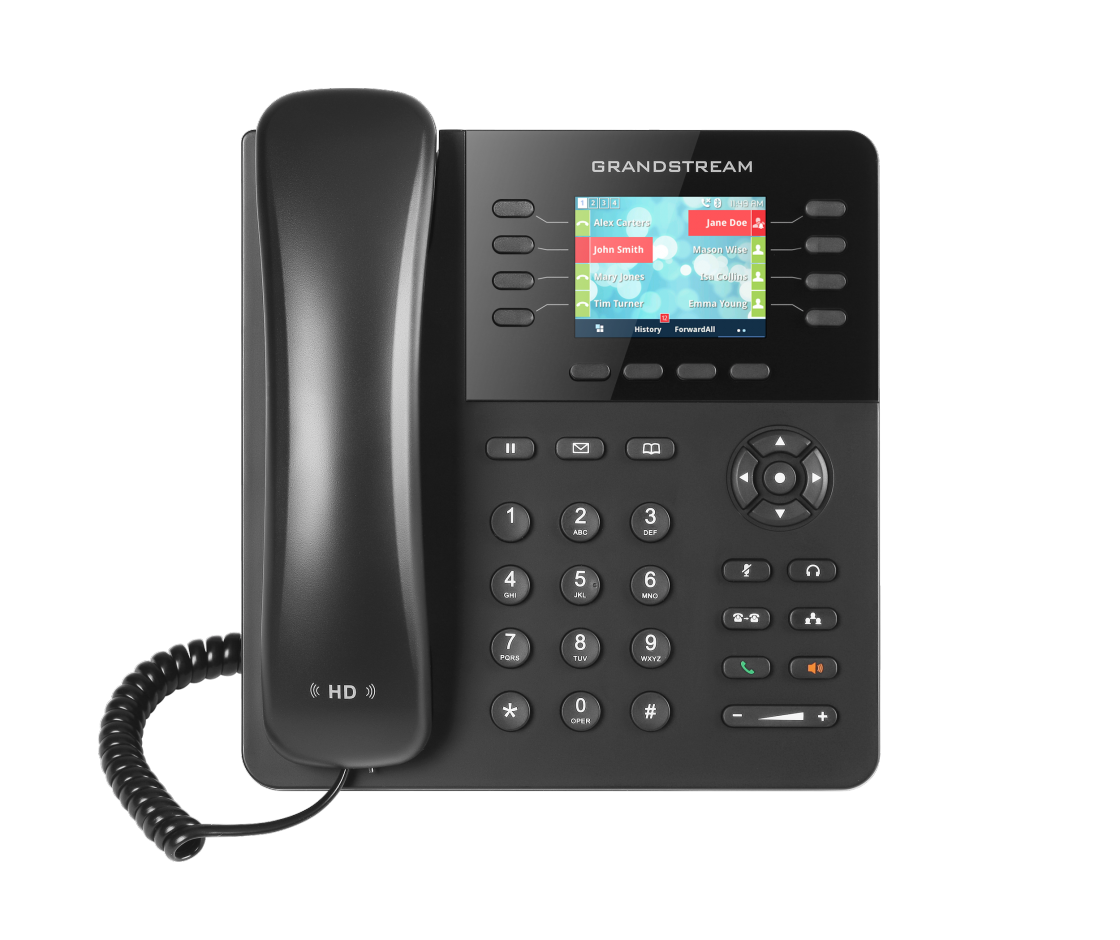 Clipart phone corded phone. Gxp high end ip