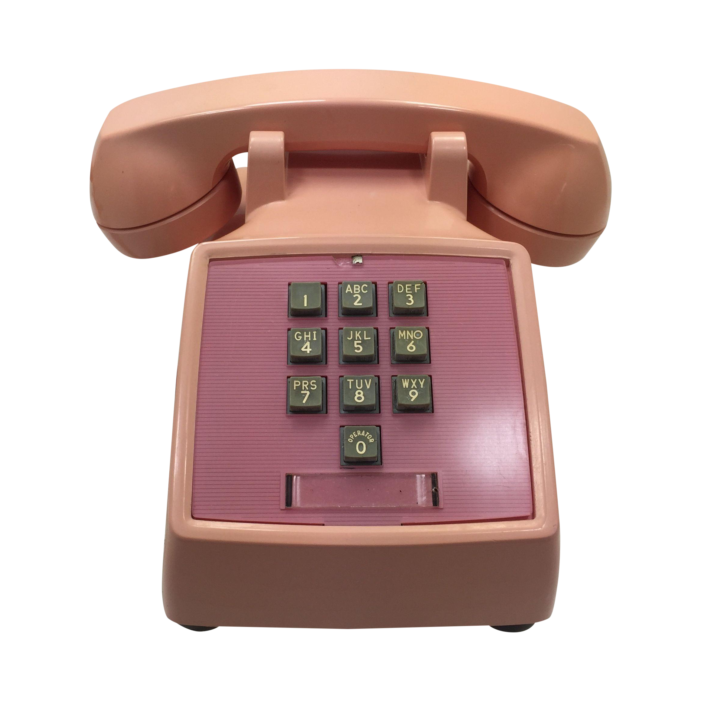 Western electric s pink. Telephone clipart rotary dial phone