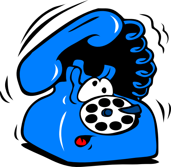 Cell phone ringing panda. Telephone clipart phine