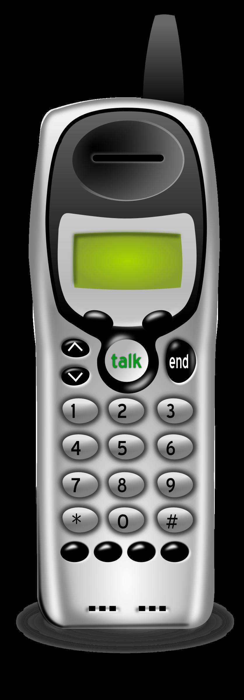 No basestation big image. Clipart phone cordless