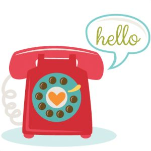Telephone clipart cute. Clipartfest wikiclipart