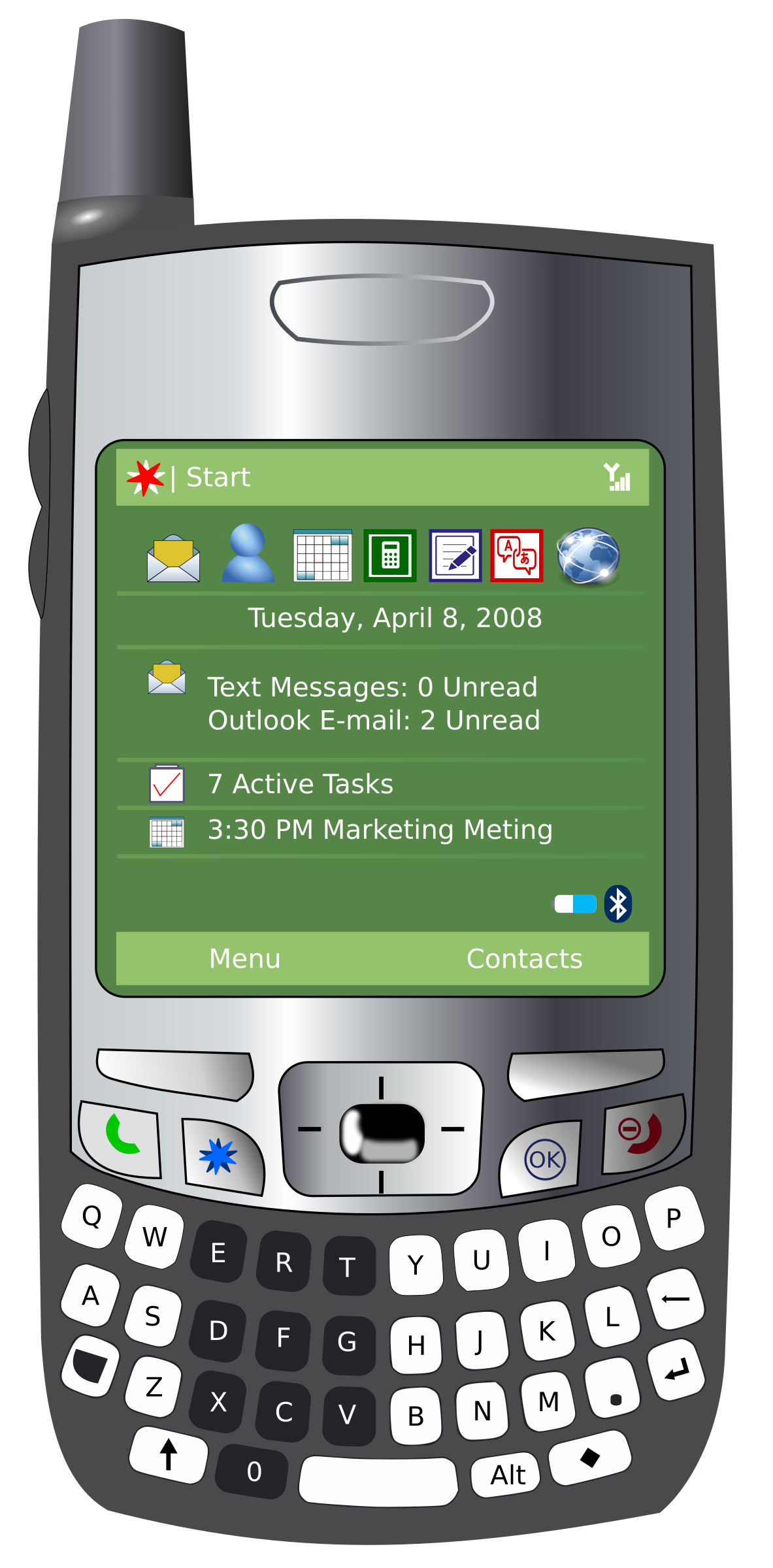 Smart with no logos. Clipart phone digital