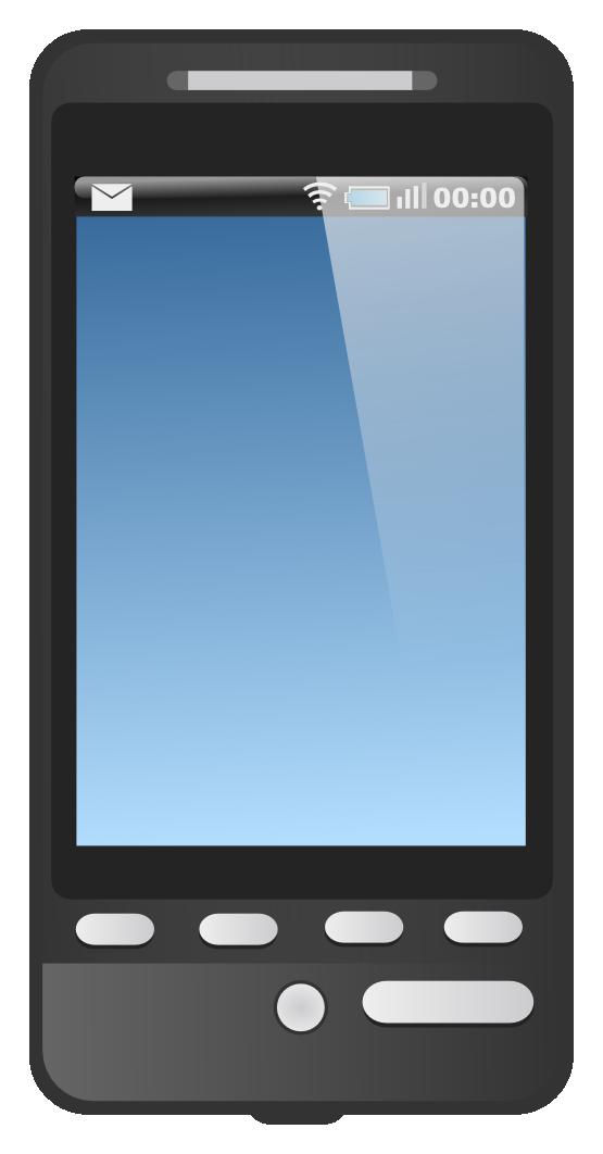 Clipart phone digital. Clipartist net clip art