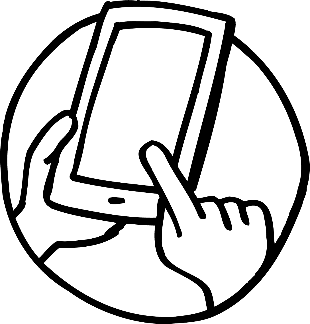 Phone clipart mobile calling. Telephone line drawing at