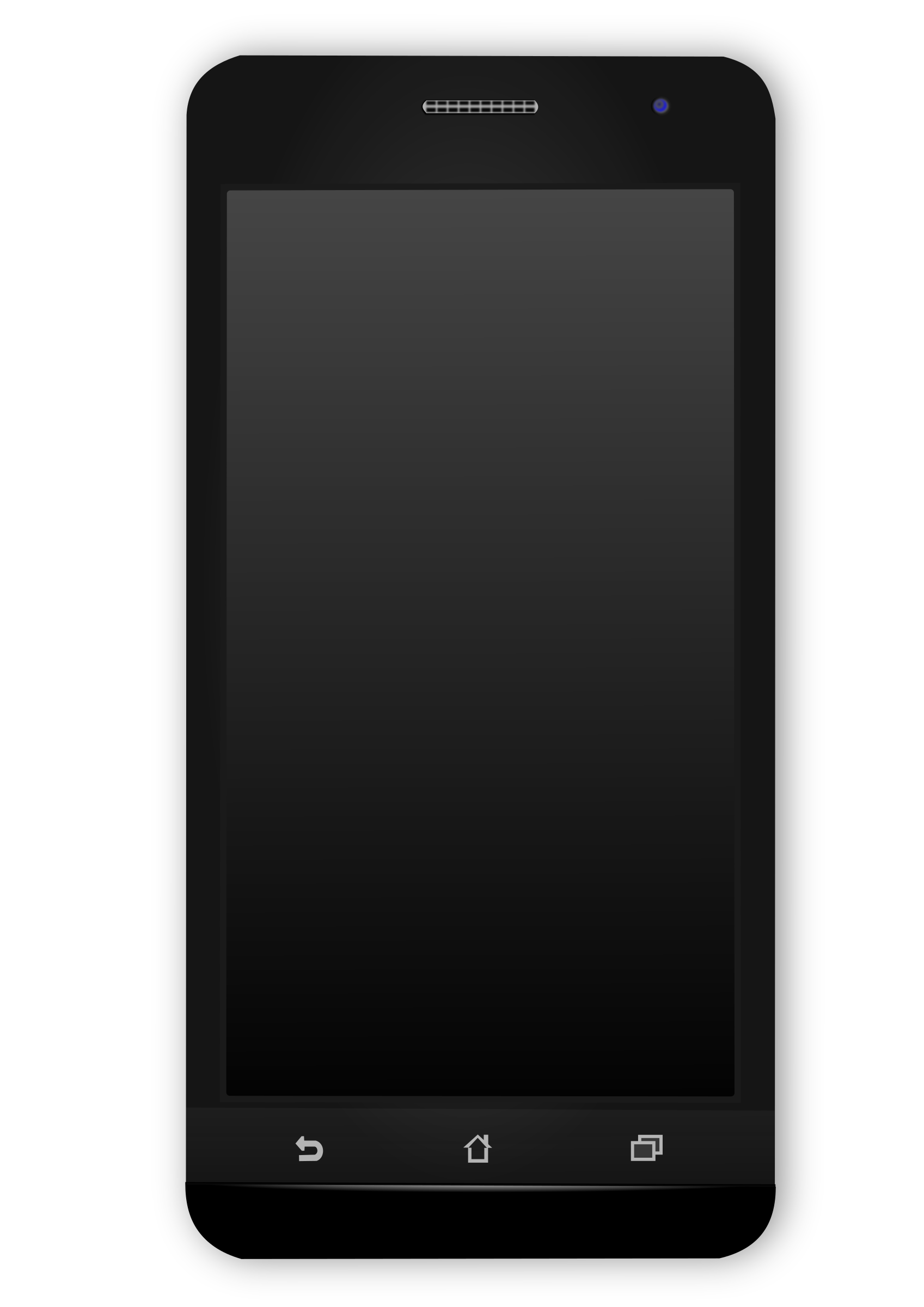 Black android phone icons. Website clipart mobile