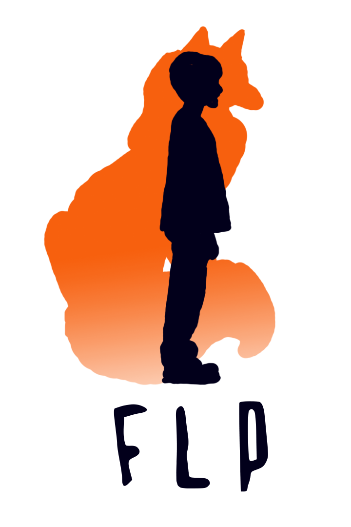 The fox and little. Clipart phone energetic