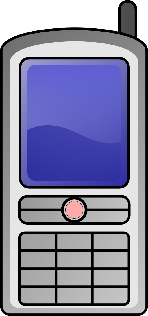 Clipart phone feature phone. Mobile i royalty free