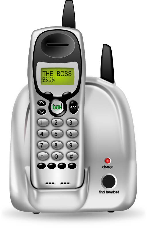 I royalty free public. Clipart phone home phone