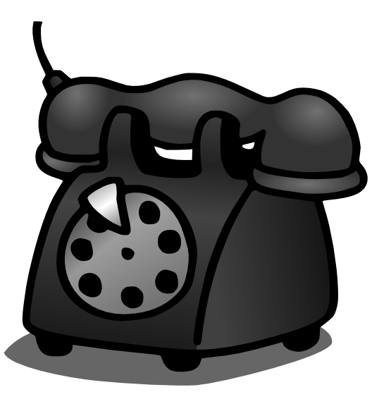 August notes from the. Telephone clipart cartoon