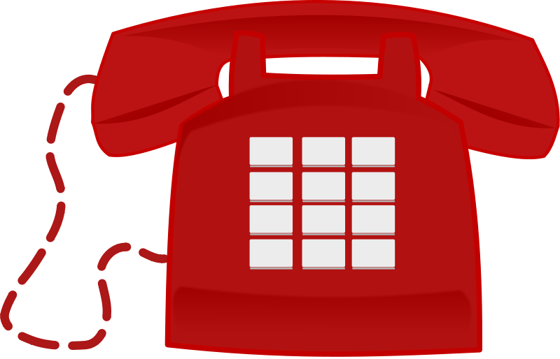 Free stock photo of. Telephone clipart illustration