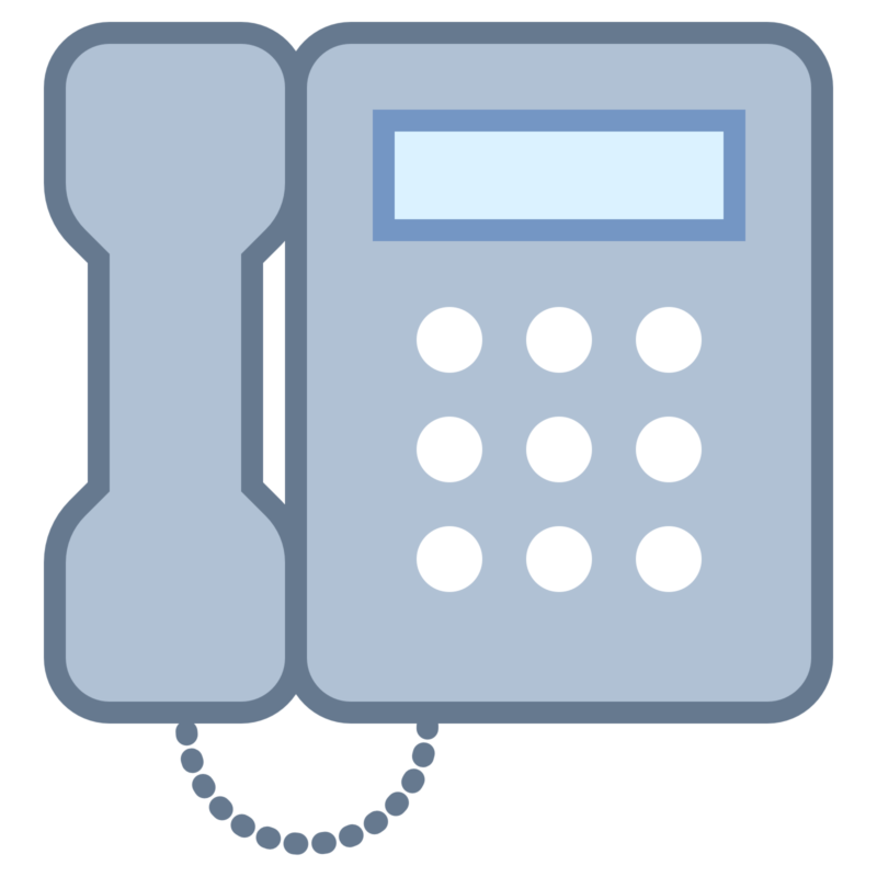 Free black and white. Telephone clipart blue
