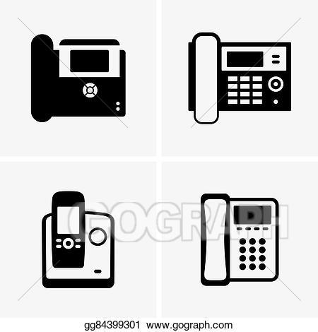 Clip art vector phones. Clipart phone ip phone