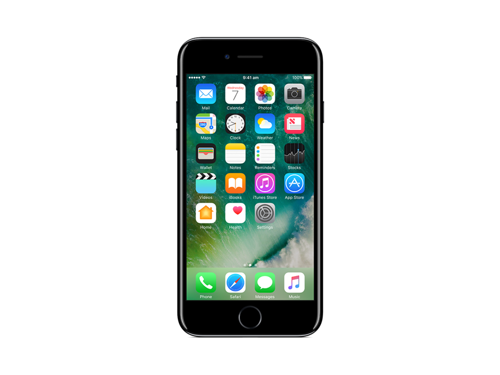 Apple gb jet black. Phone clipart iphone