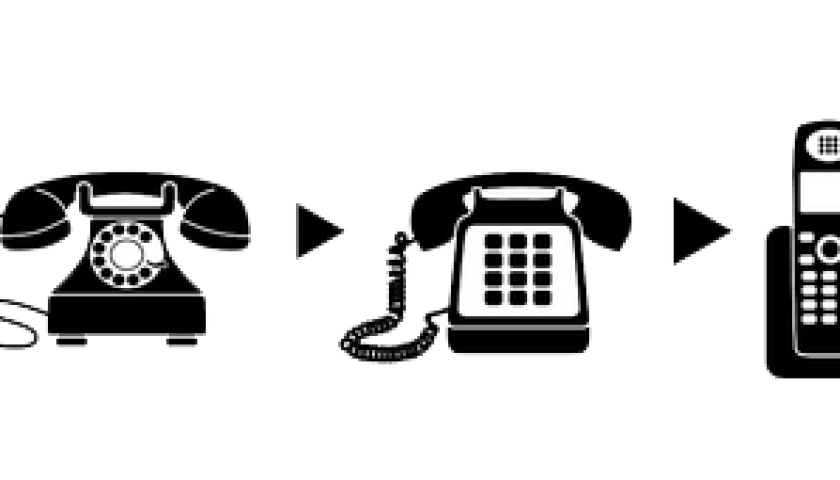 telephone clipart landline phone #145556793