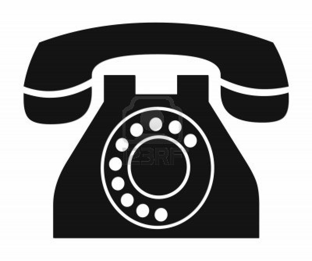 Clipart phone landline phone.  telephone clipartlook