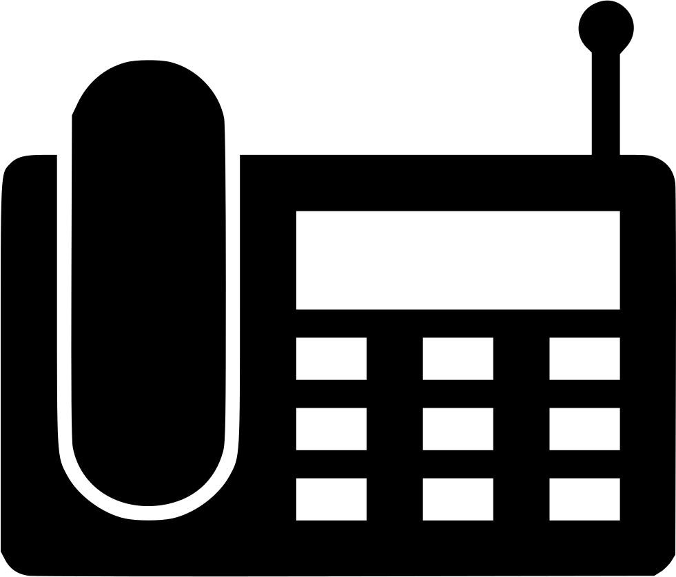 Wireless svg png icon. Clipart phone landline phone