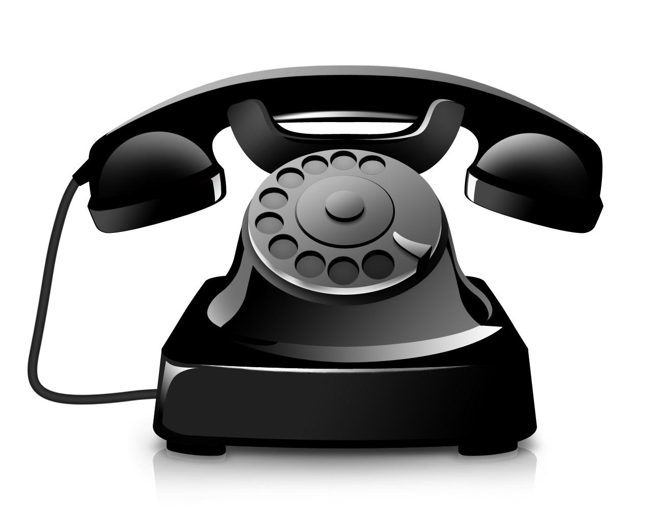 Clipart phone landline phone. Telephone clip art of