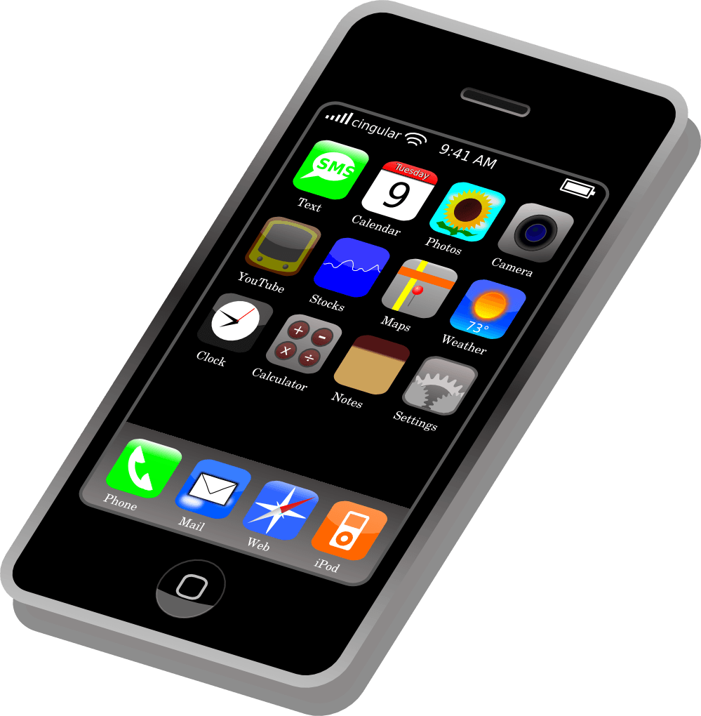 Free devices cliparts download. Clipart phone mobile device