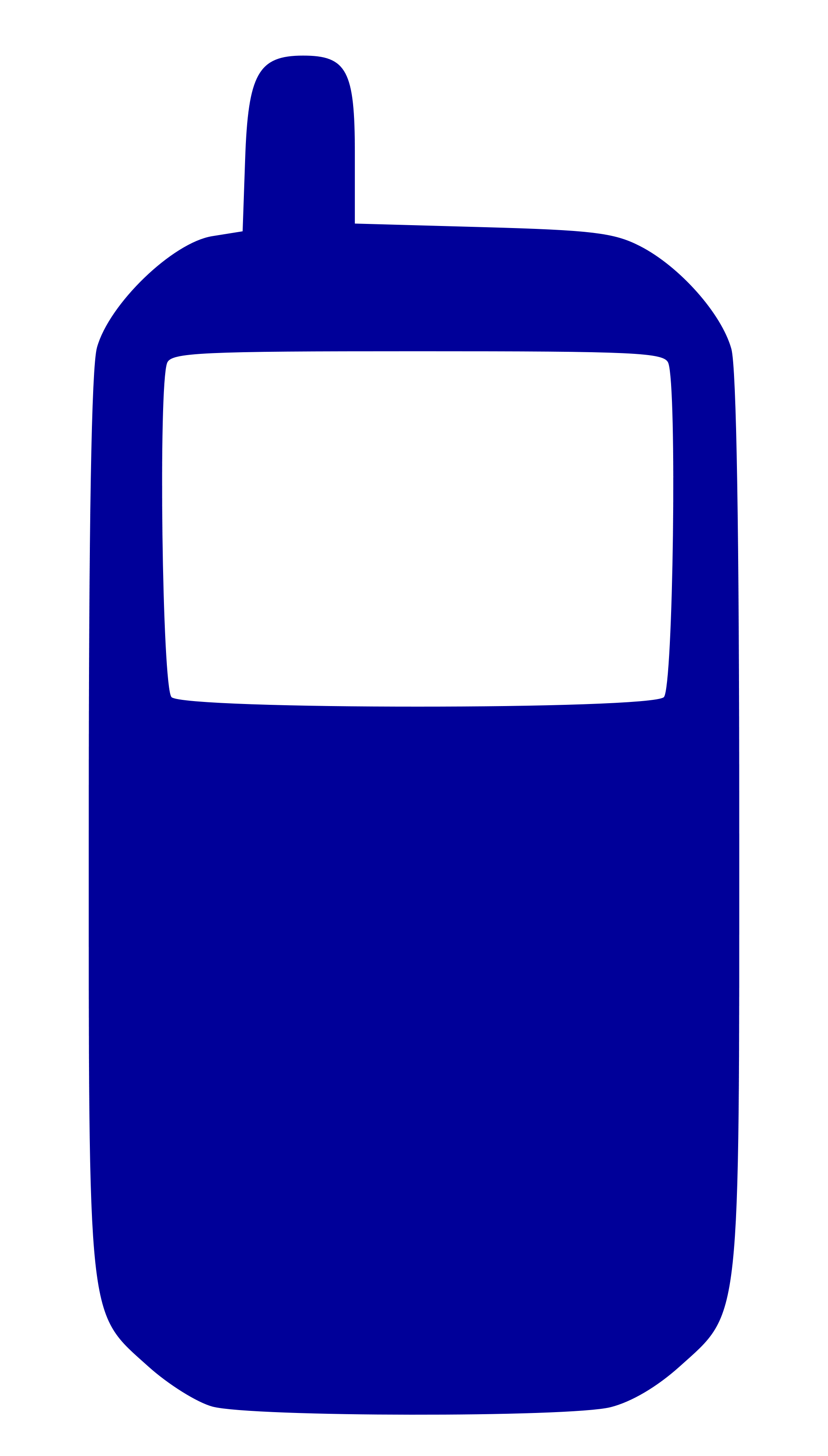 Telephone clipart blue. File cell phone icon