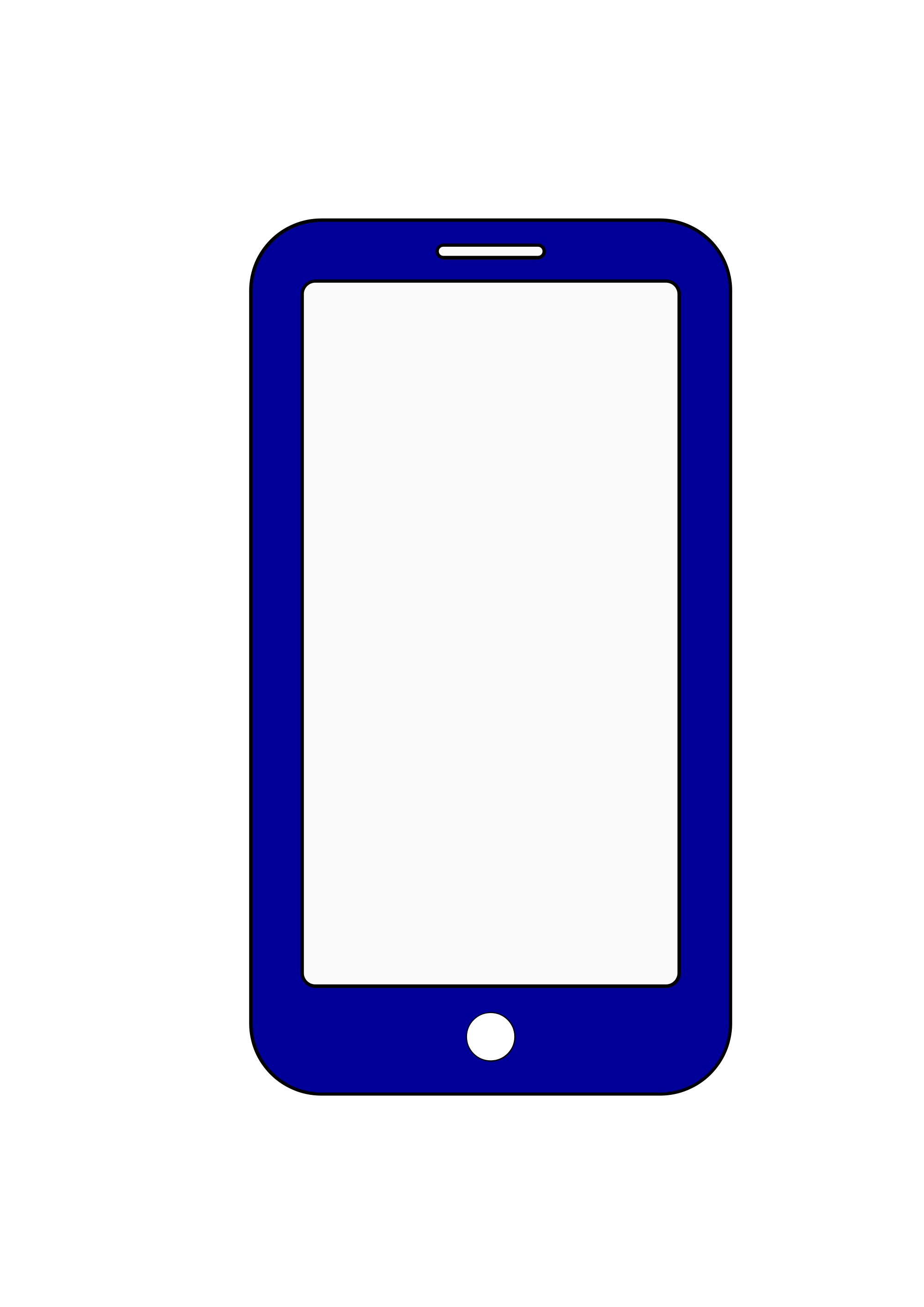 Phone clipart modern. File smartphone icon svg
