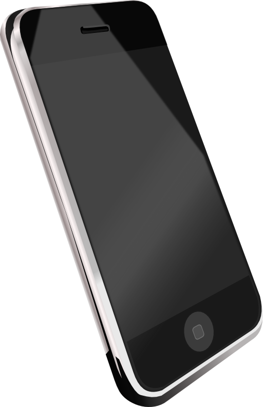Phone clipart modern. Cell i royalty free