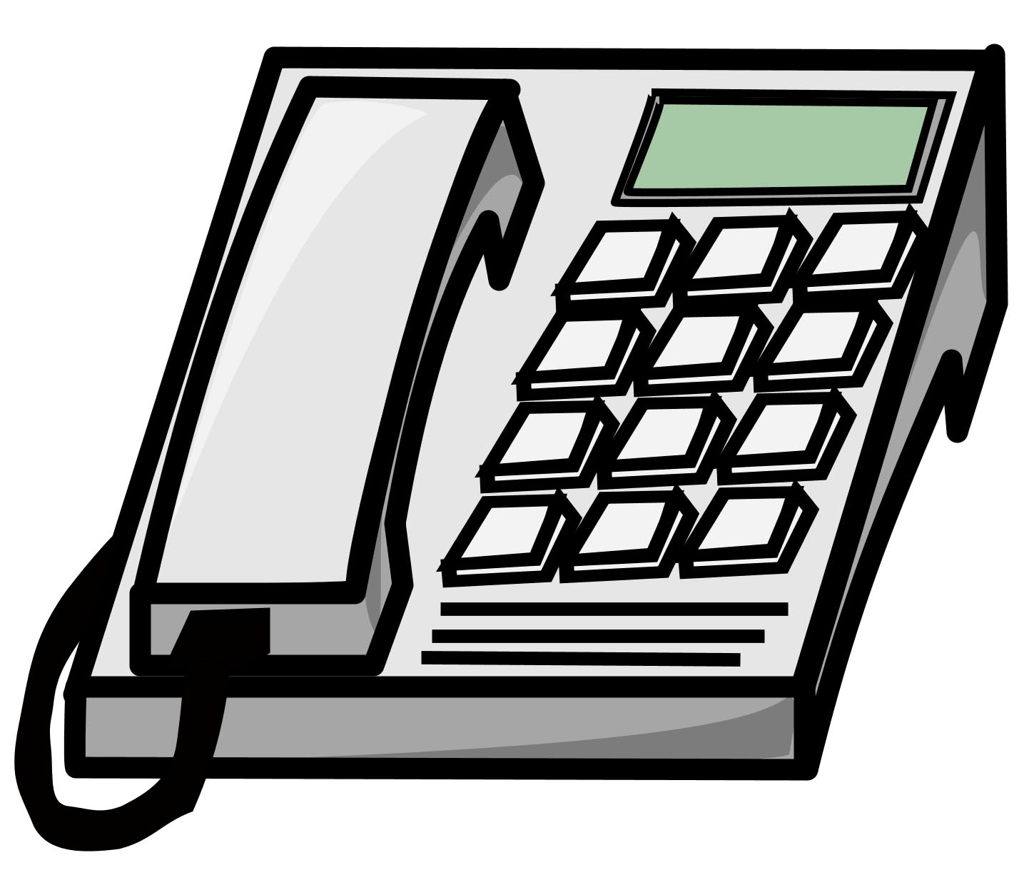 Telephone clipart office phone.  clip art clipartlook