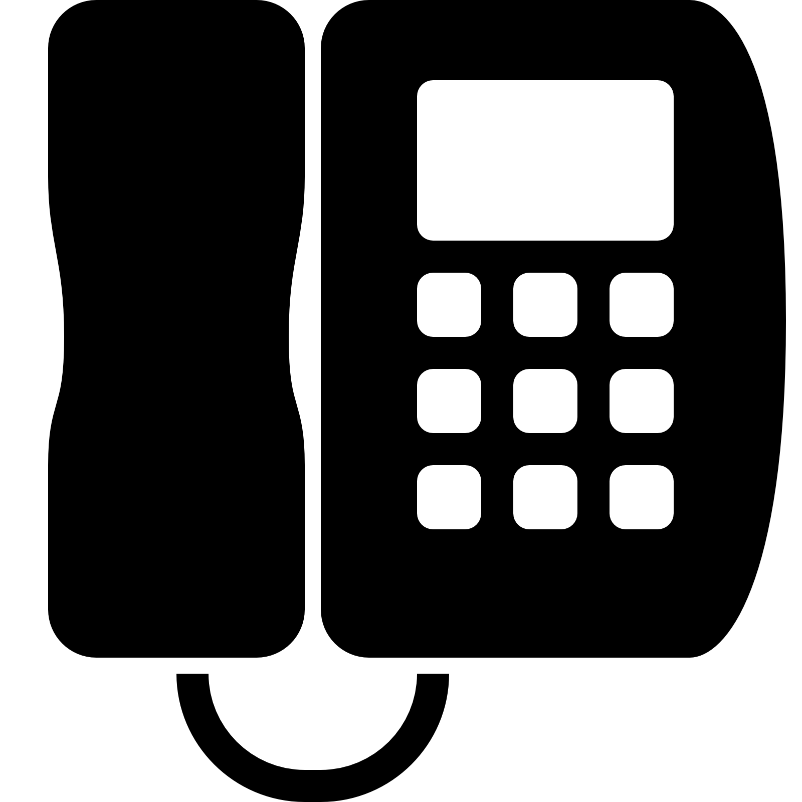 Partition contractor kl l. Telephone clipart office phone