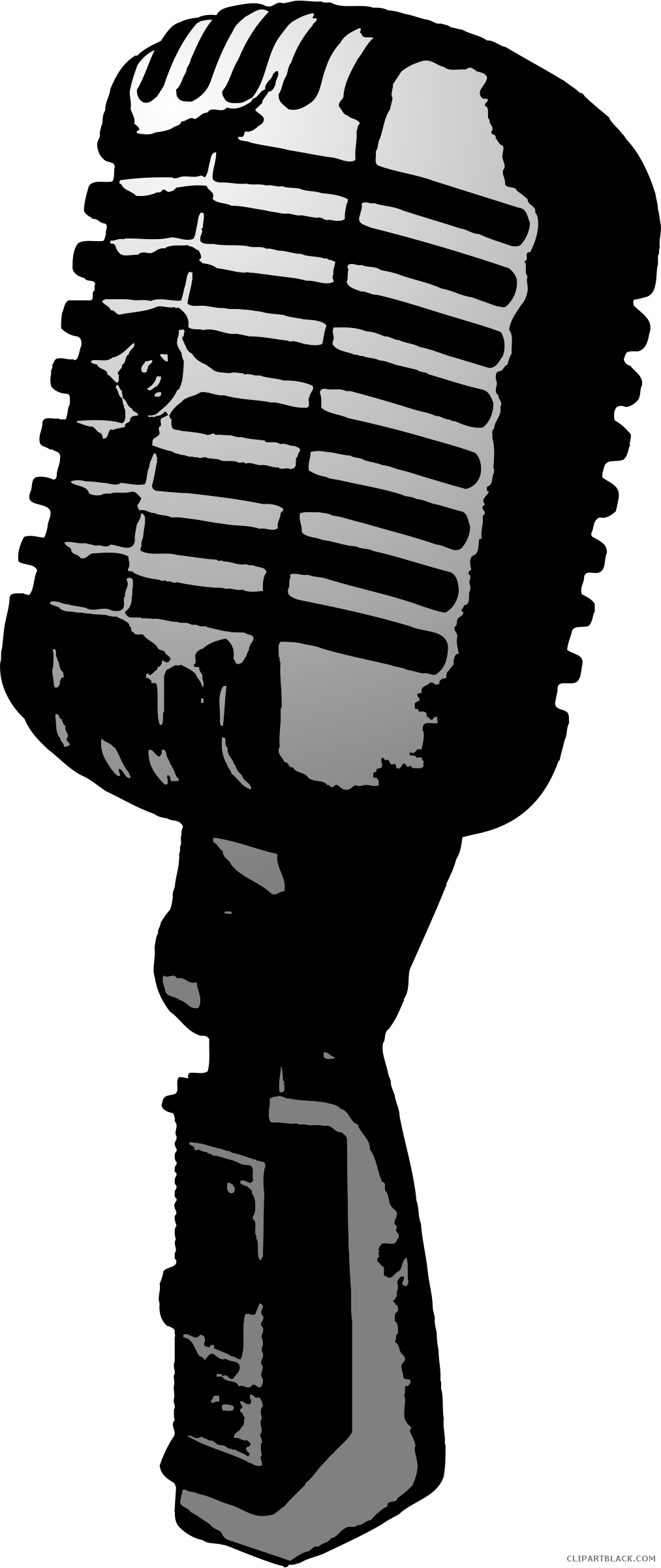 Microphone clipart old style. Fashioned time clipartblack com