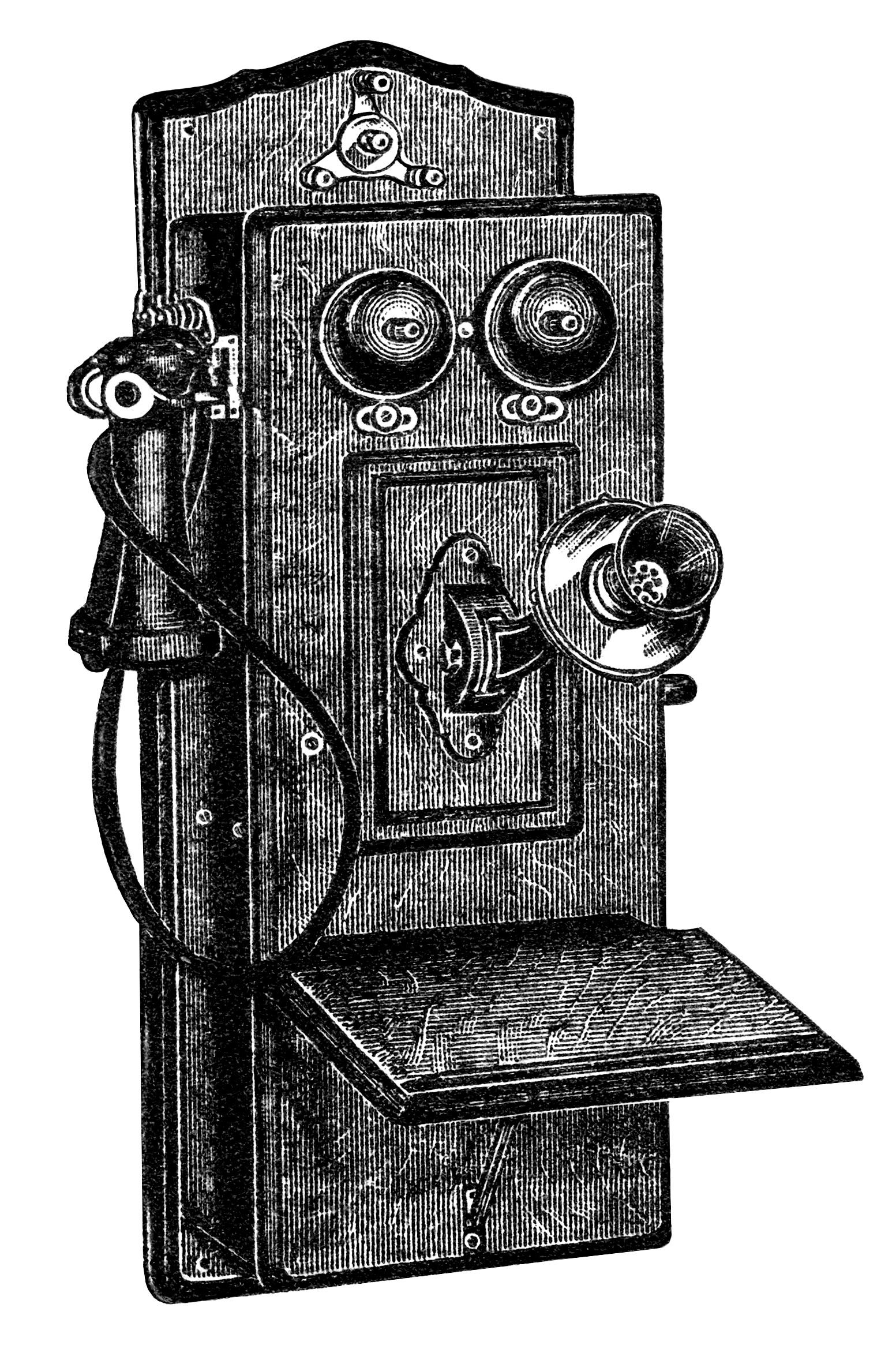 Clip art old design. Clipart telephone antique telephone