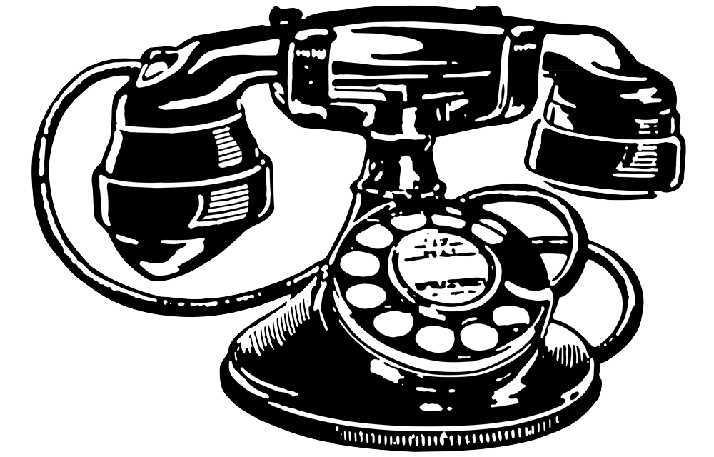 Telephone clipart old fashioned telephone.  collection of drawing
