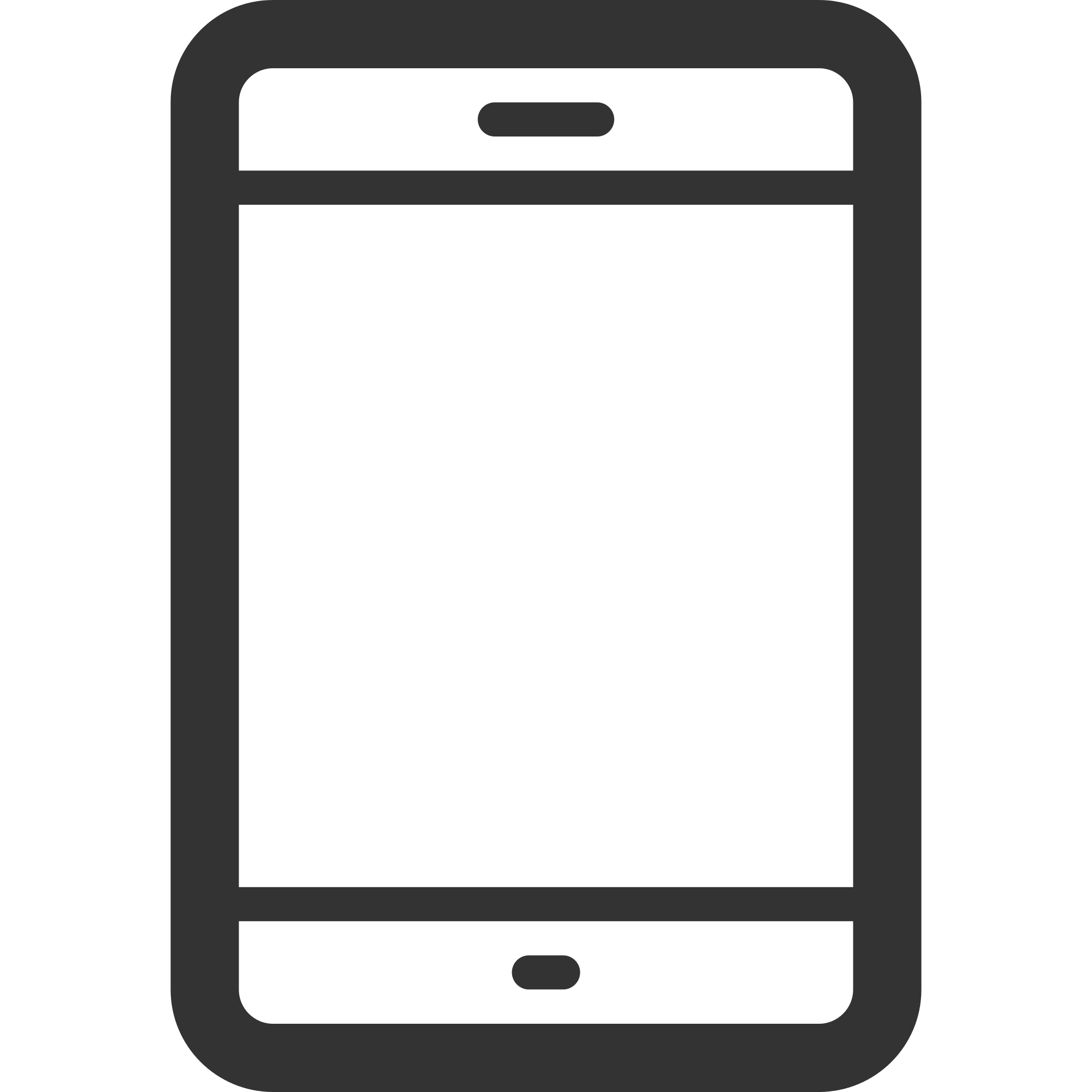 File linecons smartphone svg. Clipart telephone outline