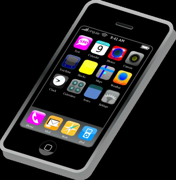 Iphone clipart app. Smartphone panda free images