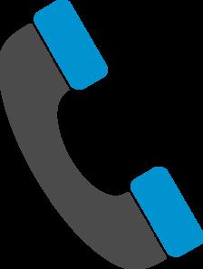 Telephone clip art at. Clipart phone phone handle