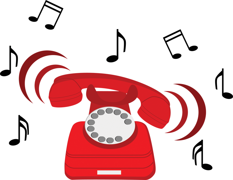 The is ringing purim. Telephone clipart phone ring