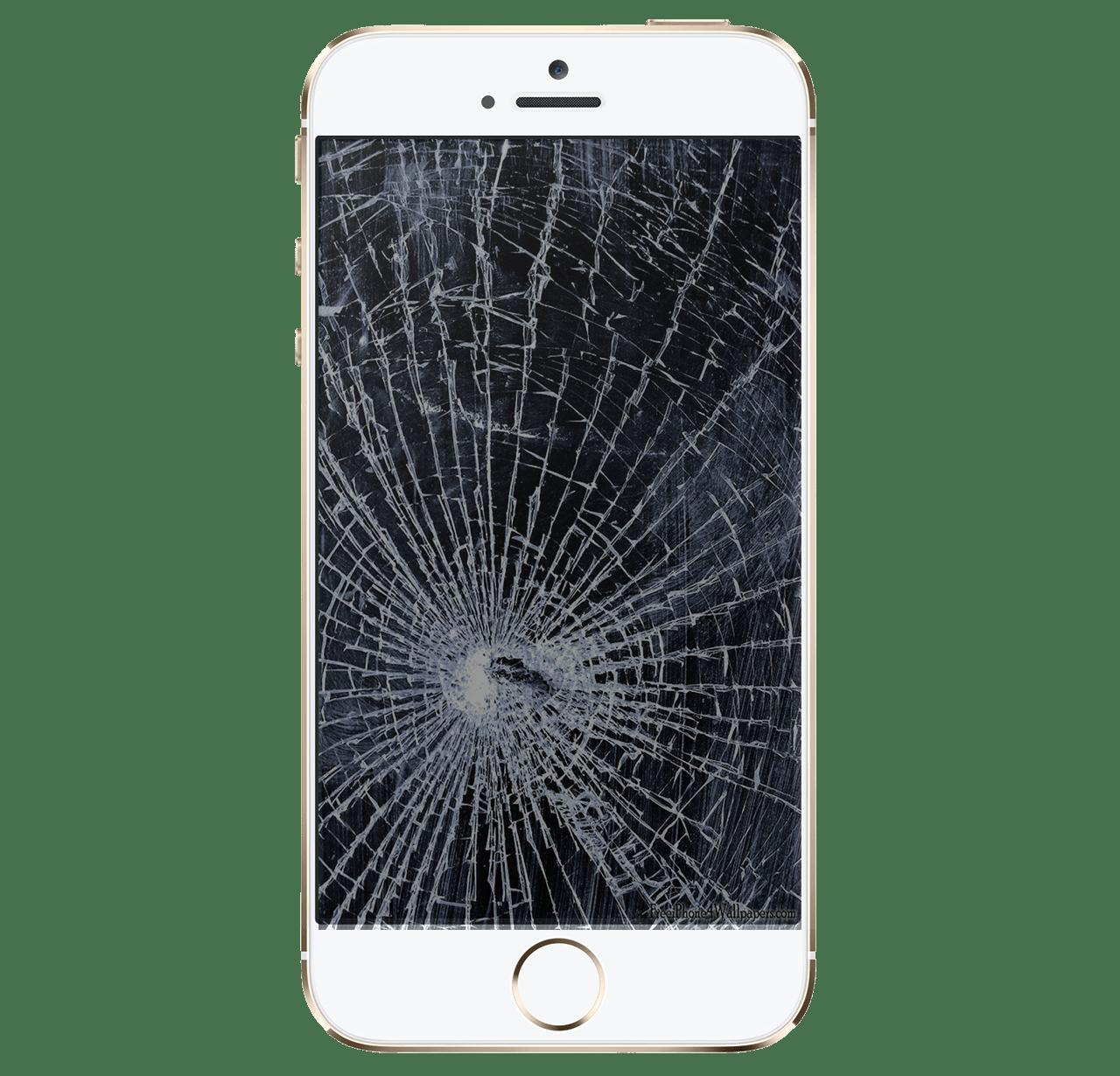 Iphone screen transparent png. Technology clipart broken