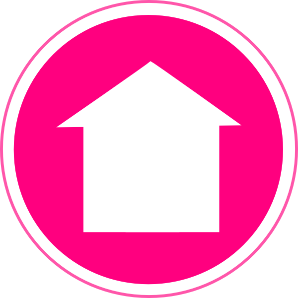 Clipart phone pink. Hot home icon clip