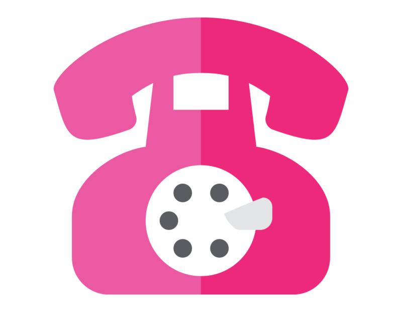 Clipart phone pink. Free telephone black and