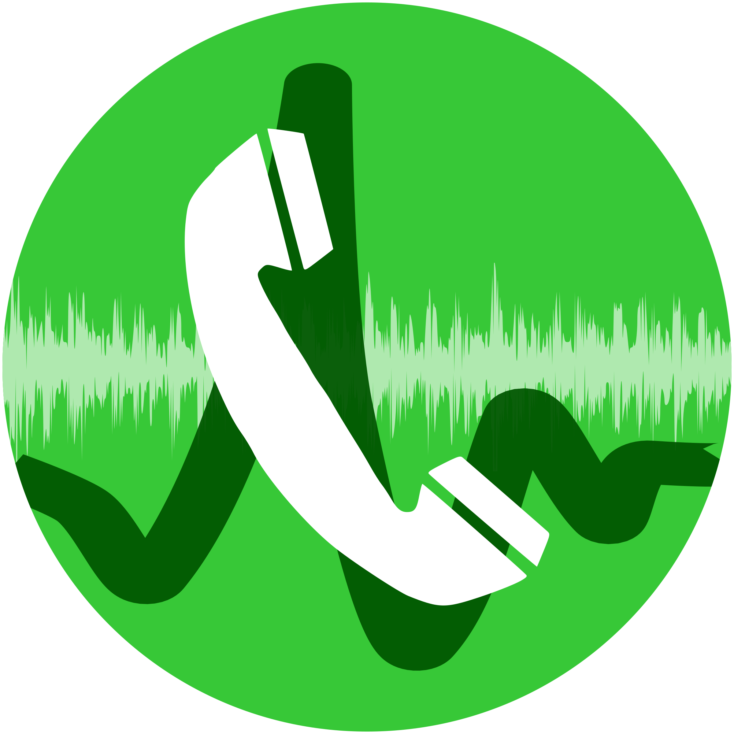 Phone call icon big. Telephone clipart sign