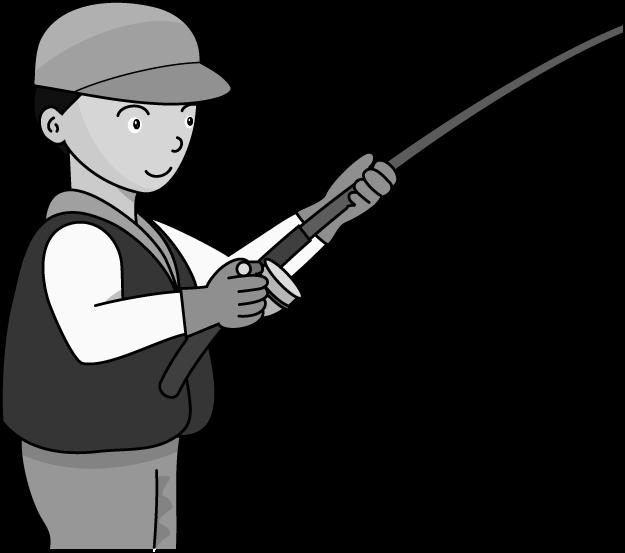 Fishing clipartblack com tools. Clipart phone pole