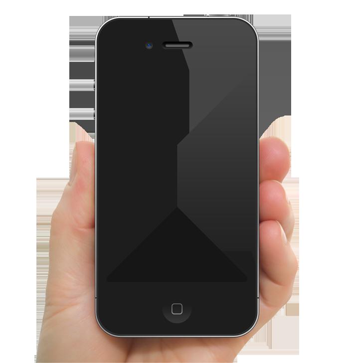 Clipart telephone hand phone. Iphone plus apple clip