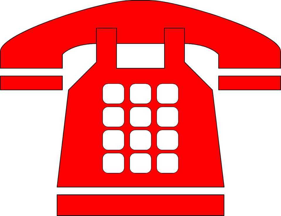Telephone clipart red telephone.  collection of phone