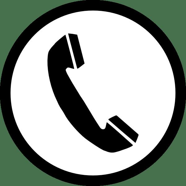 Phone sign acur lunamedia. Telephone clipart modern telephone