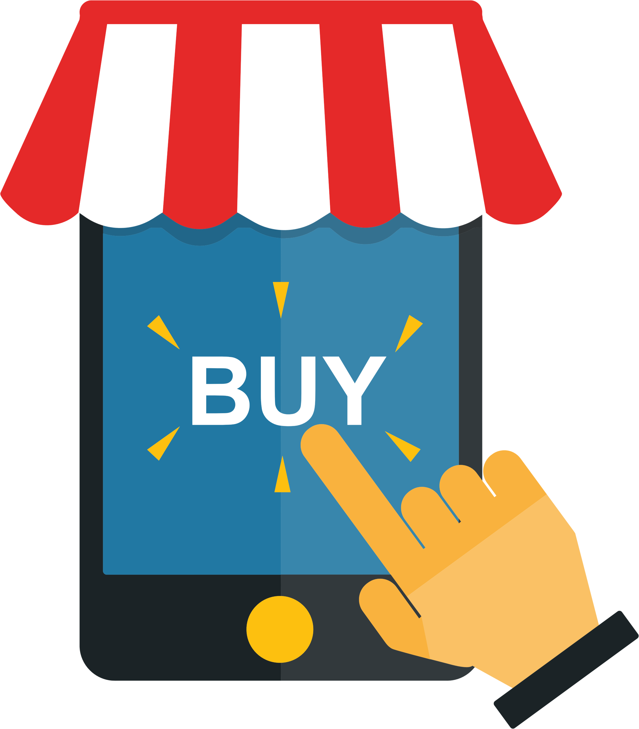 Phone clipart shopping. Mobile big image png